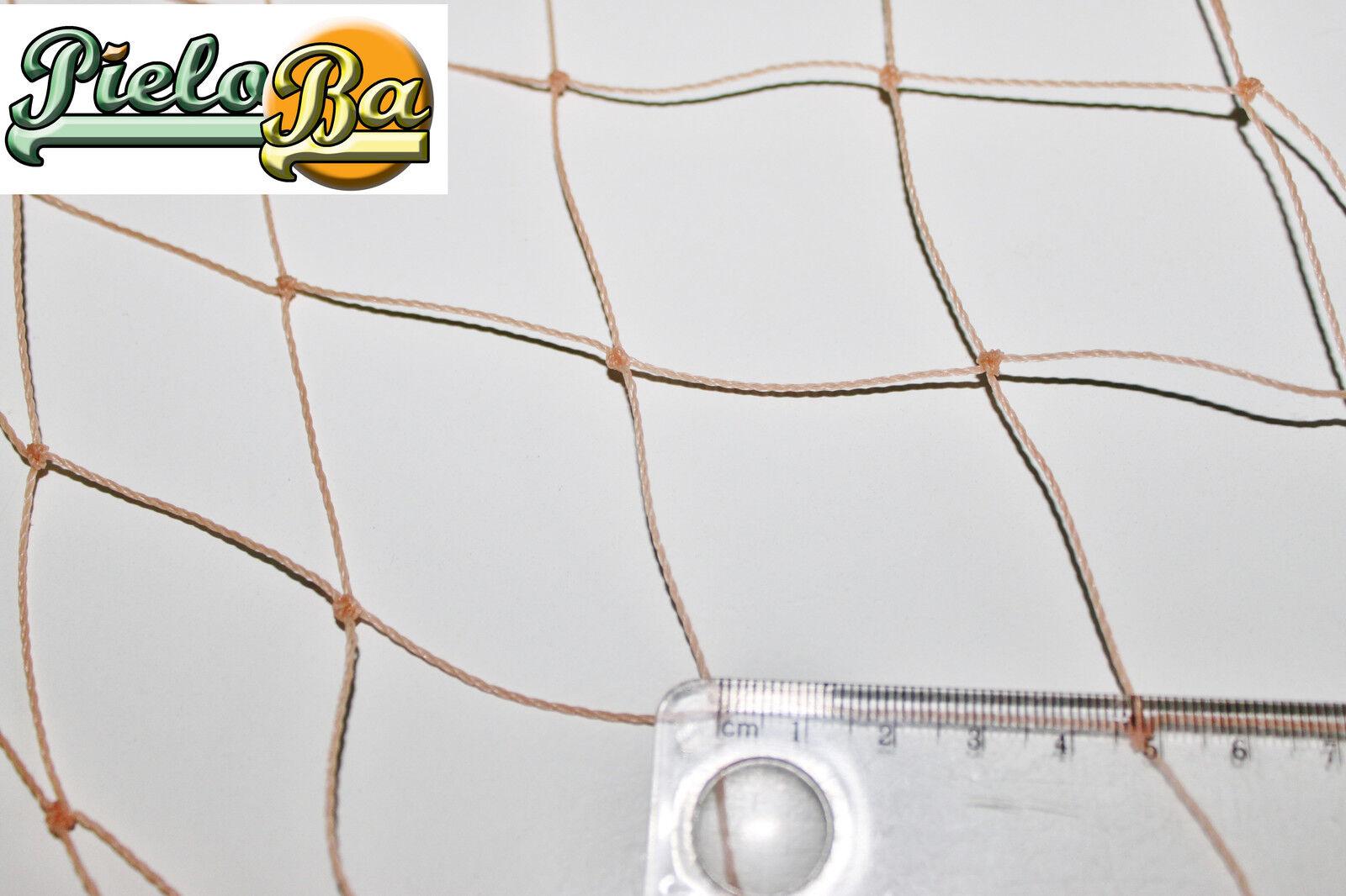 Netz Geflügelnetz  1,60 m x 30 m  lachsfarben  Masche 5 cm  Geflügelzaun