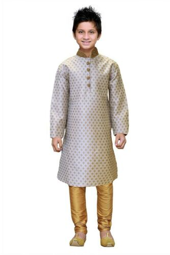 Boy/'s Kid/'s Indian Brocade Kurta Pajama BK530