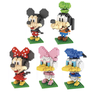 Goofy LOZ Diamond Blocks Mickey Donald Daisy Minnie 1,190 PCS Set