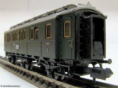 Minitrix Spur N Nr.:3170 DRG Personenwagen 2.te Klasse mit Licht OVP TOP