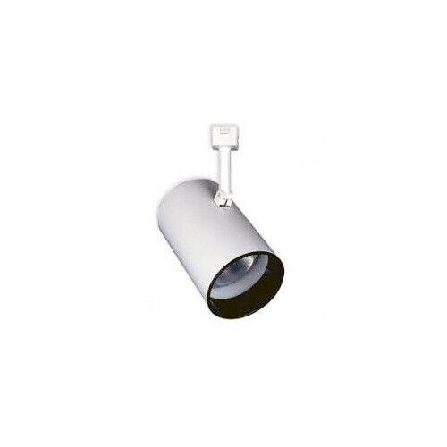 Nib Con Tech Lighting Ctl 140 White Par38 Flat Back Cylinder Track Light Fixture