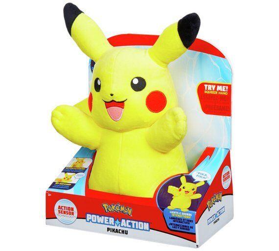 Pokémon Power Action Pikachu Action Sensor Technology Technology Technology Squeeze Pikachu's Hands_UK e37284
