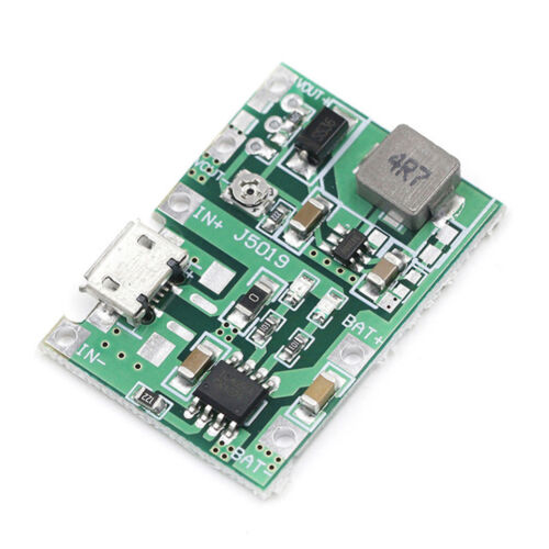 Lithium Li-ion 18650 3.7V 4.2V Battery Charger Board DC-DC Step Up Boost RS