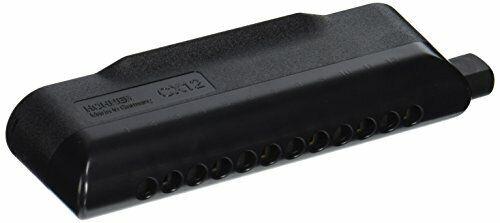 Mundharmonika Hohner M754500 CX 12 C-Dur Musikinstrument Blasinstrument schwarz