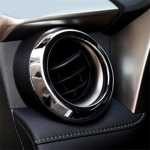 Fit For Toyota RAV4 2013-18 Interior Air Vent Outlet Decoration Cover Trim Solid