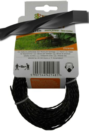 3mm x 15m RIPPER strimmer//trimmer line,low noise-longer lasting,BEST EVER!
