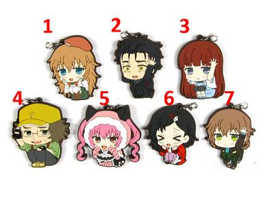 Hot Anime Hakuouki Shinsengumi Kitan Charm Rubber Strap Keychain Pendant P59