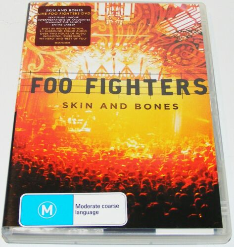 1 of 1 - FOO FIGHTERS Skin And Bones --(Dvd)