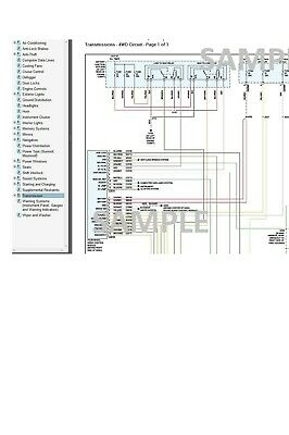 Ford F-250 2008 08 Complete Color Wiring Diagram Schematic ...