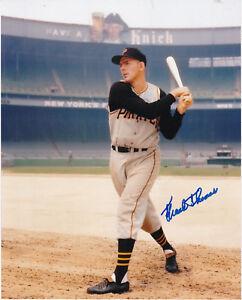Frank Thomas signed 8x10 photo--->The Orginal in 1st Pittsburg Pirates uniform!!
