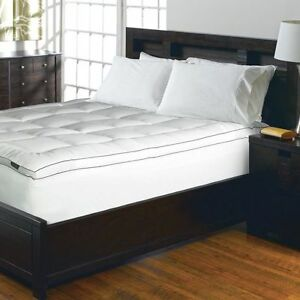 King Size Bed Mattress Pad 1200 Thread Cotton Cushion ...