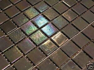 glasmosaik fliesen mosaik perlmutt effekt grau top bad dusche pool sauna ebay. Black Bedroom Furniture Sets. Home Design Ideas