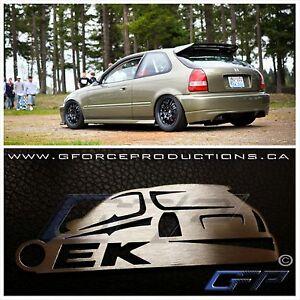 Honda B18 Engine For Sale >> JDM Honda Civic EK, Type R hatch Stainless Steel Custom Key chain B16 | eBay