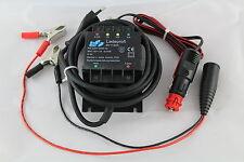 Hochwertiges Fritec 1 Ampere Motorrad Ladegerät mit Stecker für Bordstdose neu