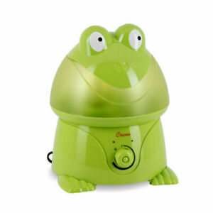 Details about *NEW Crane Adorable Ultrasonic COOL MIST Kids HUMIDIFIER Green FROG (EE 3191)