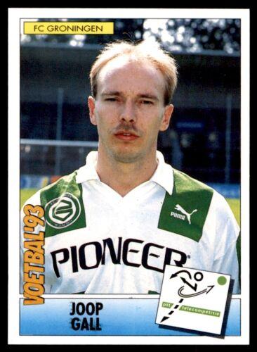 Panini Voetbal/'93 Países Bajos 69 Joop agalla FC Groningen no