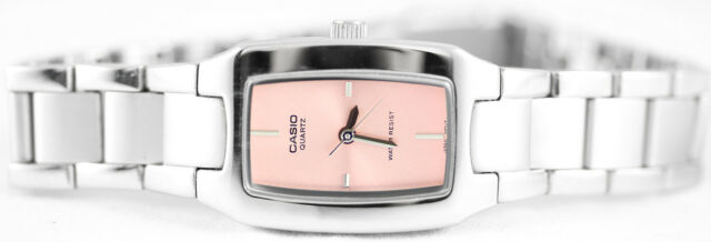 Casio LTP1165A-4C Ladies Stainless Steel Analog Casual Dress Watch Pink Dial New