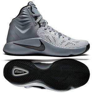 Distribución Darse prisa Hong Kong  Nike Zoom Hyperfuse 2014 Wolf Grey/Black/Grey 684591-002 Men's Basketball  Shoes   eBay