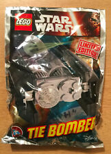 Lego minifigure figure polybag limited star wars ship tie bomber