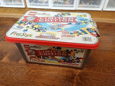 Lego Freestyle Set 3028 25th Anniversary Silver Tub New Complete Sealed Ebay