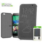 Original Ultra Slim Dot View Flip Smart Multi-Function Case Cover for HTC One E8