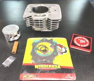 Details about 95-03 Honda Foreman 400 cylinder jug piston top end 432cc big  bore rebuild kit