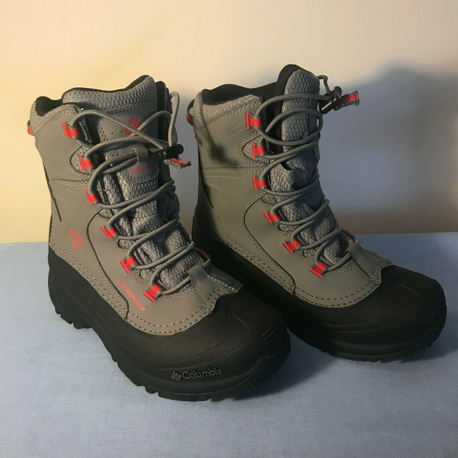 Columbia Snow Boots Bugaboot II Winter Insulated 200 Grams Women 4 US Pac Boot