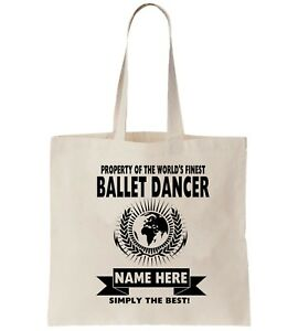 9fa2150fd4704 Amend Leaving Personalised If Bag Ballet Shopper You Dancer Need Thank Tote  85wqqSRX