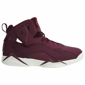 08b96ea0930 Jordan True Flight Mens 342964-625 Bordeaux Nubuck Basketball Shoes ...