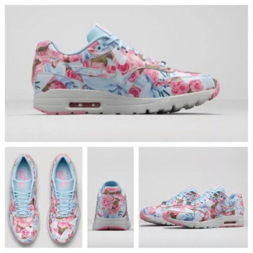 Nike Air Max 1 Ultra Moire LOTC QS Paris Bleu Glace Floral UK 9-
