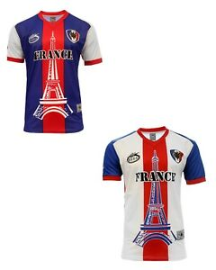 5ae81501c Image is loading France-Arza-Design-Jersey-Home-and-Away