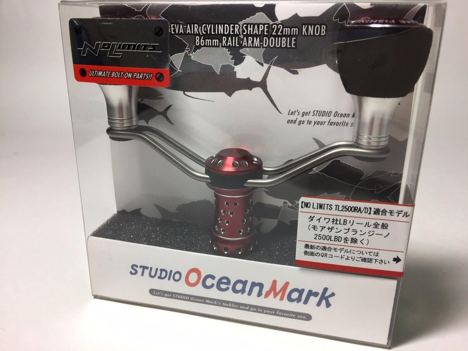 51851) STUDIO OCEAN MARK NO LIMITS TL2500RA/D CUSTOM HANDLE rosso