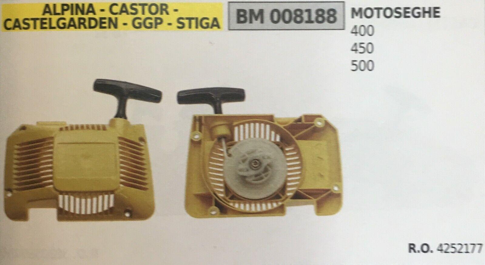 Start Komplett Brumar Alpina-Castor - Castelgarden - Ggp - Stiga BM008188