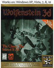Wolfenstein 3D + Spear of Destiny + Elder Scrolls: Arena + Daggerfall PC Games