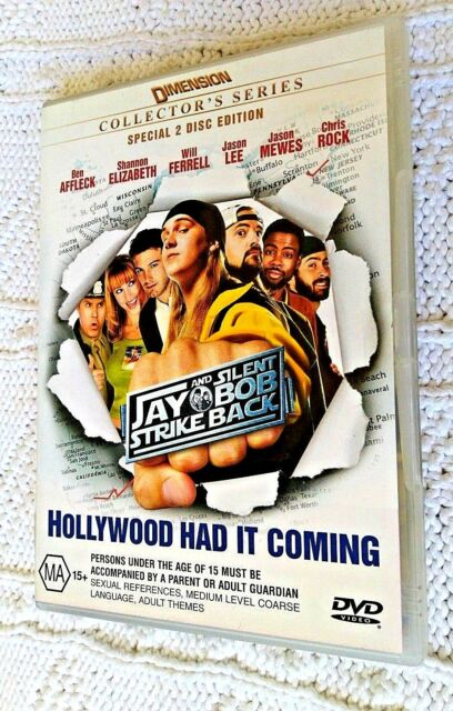 JAY AND THE SILENT BOB STRIKE BACK– DVD, 2-DISC SET, R-4, LIKE NEW, FREE POST