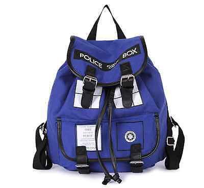 Hot Doctor Who Tardis Buckle Slouch Bag Purse Dr Who Backpack US Ship