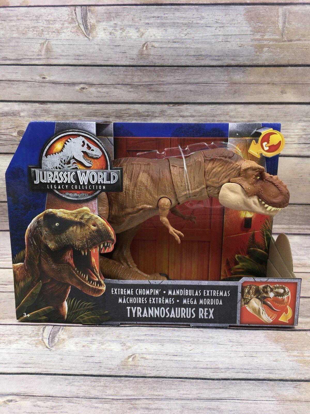 Jurassic welt vermächtnis sammlung extremen biss tyrannosaurus rex park mattel