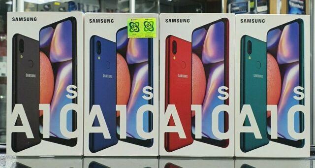 NEW SAMSUNG GALAXY A10s DUAL SIM 32GB 4G LTE SMARTPHONE BLACK BLUE GREEN RED
