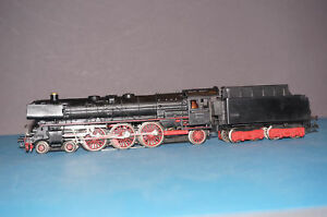 1/87 Marklin H0 3048 steam locomotive with tender BR 01 097 with smoke generator