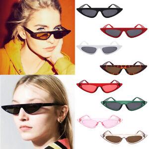 36c52cd46f Image is loading Women-Retro-Triangle-Frame-Mirrored-Sunglasses-Oversized- Cat-