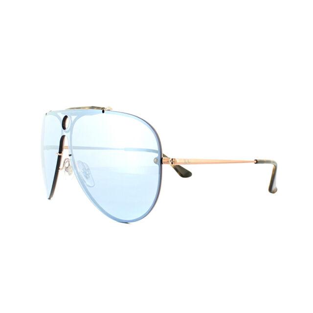 ce06ab89d9182 Ray-Ban Sunglasses Blaze Shooter 3581N 90351U Bronze Copper Violet Silver  Mirror