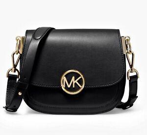 Details about Michael Kors Shoulder Bag Lillie Sm Saddle Crossbody Bag New 32s9g0lc1l