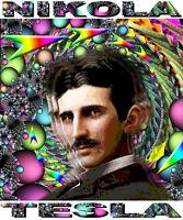 Nikola Tesla Tribute T-shirt Or Print By Ed Seeman