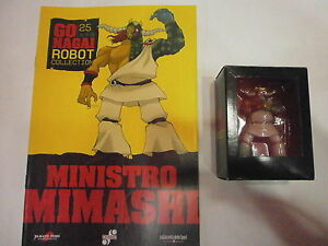 GO-NAGAI-ROBOT-COLLECTION-n-25-MINISTRO-MIMASHI-visitate-COMPRO-FUMETTI-SHOP