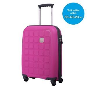 tripp holiday 5 4 wheel cabin bag suitcase magenta new. Black Bedroom Furniture Sets. Home Design Ideas