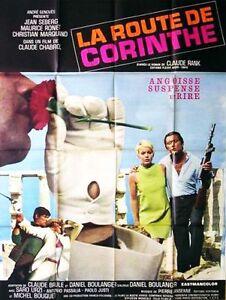 Affiche-120x160cm-LA-ROUTE-DE-CORINTHE-1967-Jean-Seberg-Maurice-Ronet