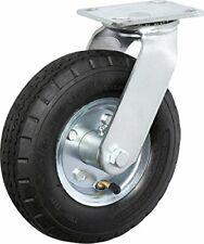 Casterhq 10 X 35 Swivel Pneumatic Caster 4 Ply 350 Lbs Capacity Air Fil