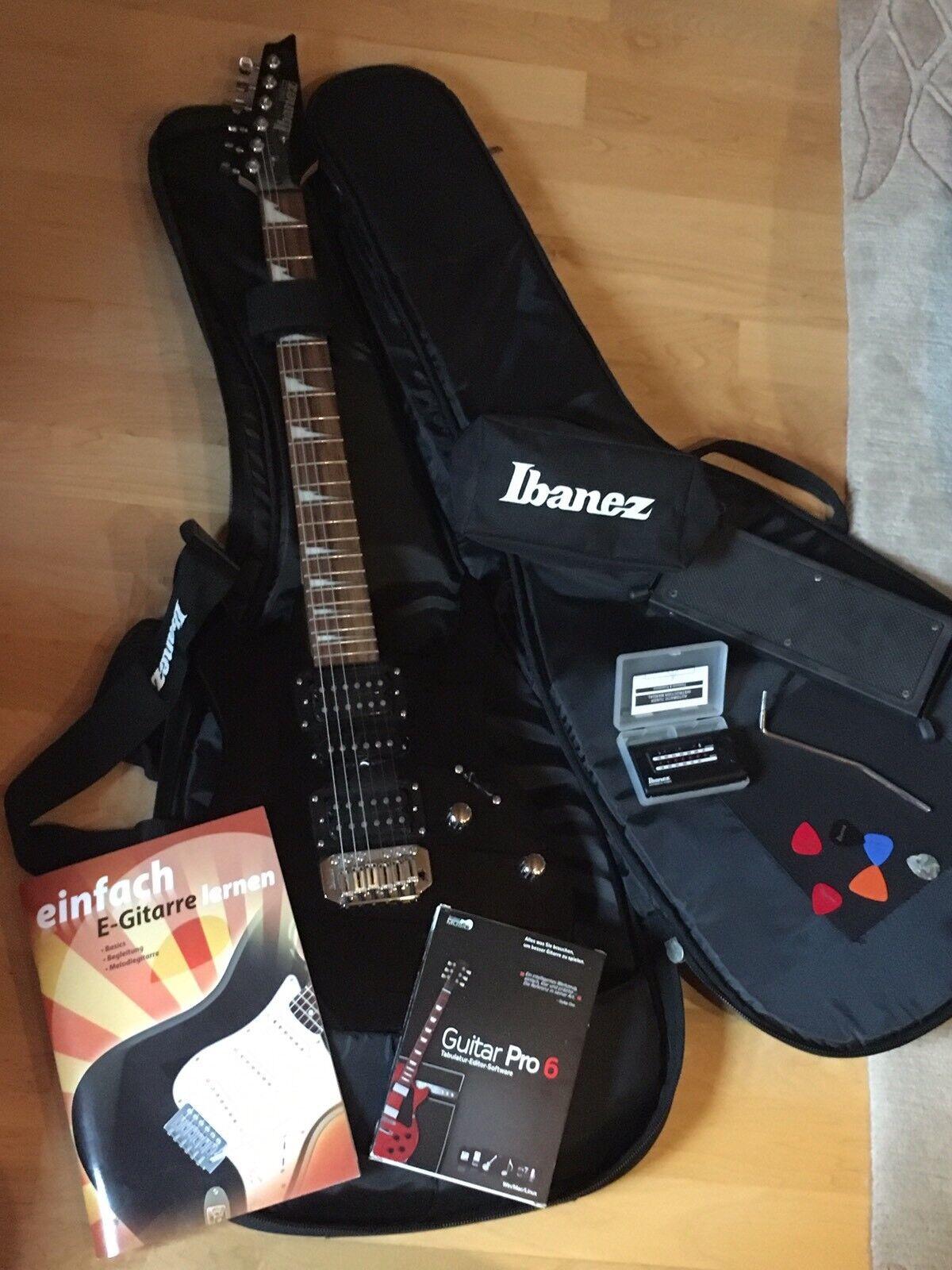 E Gitarre Ibanez Stimmgerät Fußpedal Notenheft Und Vieles Mehr