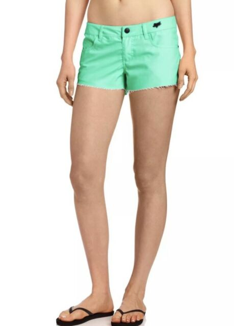 Fox Women/'s Syren Boardie Hydro Shorts MOTO MINT SIZE US 0 Swim $46