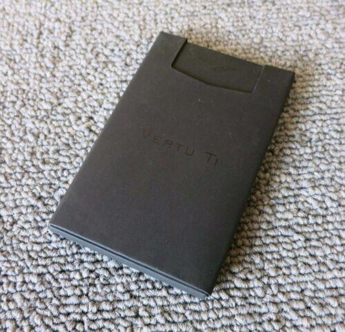 New Vertu Ti 2GB Black Wafer USB Credit Card 2.2mm Thin 85mm x 54mm Flash Drive